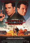 Broken Arrow 1995 Movie poster John Travolta John Woo