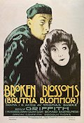 Broken Blossoms 1919 poster Lillian Gish D W Griffith
