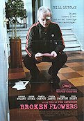 Broken Flowers 2005 poster Bill Murray Jim Jarmusch