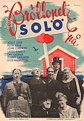 Bröllopet på Solö 1946 Movie poster Adolf Jahr