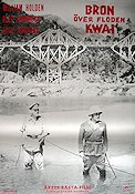 The Bridge on the River Kwai 1957 poster William Holden David Lean