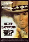 Bronco Billy 1980 poster Sondra Locke Clint Eastwood