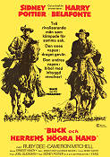 Buck and the Preacher 1972 Movie poster Sidney Poitier