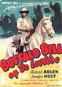 Buffalo Bill Rides Again 1947 Movie poster Richard Arlen