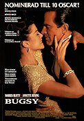 Bugsy 1991 poster Warren Beatty Barry Levinson