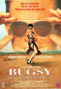 Bugsy VHS 1991 poster Warren Beatty Barry Levinson