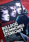 Bulldog Drummond Escapes 1937 Movie poster Ray Milland