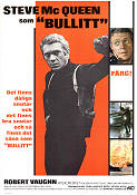 Movie Poster Bullitt 1968 Steve McQueen