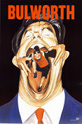 Bulworth 1997 poster Halle Berry Warren Beatty