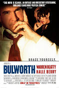 Bulworth 1997 Movie poster Halle Berry Warren Beatty