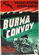 Burma Convoy 1942 Movie poster Charles Bickford