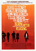 Burn After Reading 2008 poster George Clooney Joel Ethan Coen