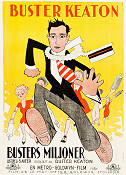 Seven Chances 1925 poster Buster Keaton
