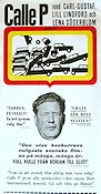 Calle P 1965 Movie poster Carl-Gustaf Lindstedt