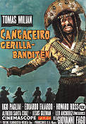 Cangaceiro gerillabanditen 1971 Movie poster Thomas Milian Giovanni Fago