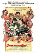 Cannonball Run 2 1984 Movie poster Burt Reynolds