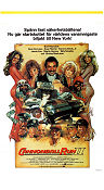 Cannonball Run 2 1984 poster Burt Reynolds Hal Needham