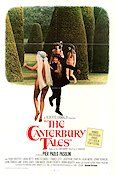 I Racconti di Canterbury 1973 Movie poster Hugh Griffith Pier Paolo Pasolini