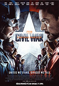 Captain America Civil War 2016 poster Chris Evans Anthony Russo