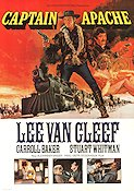 Captain Apache 1971 Movie poster Lee Van Cleef