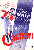 Caravan 1934 Movie poster Charles Boyer Erik Charell
