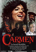 Carmen 1983 Movie poster Anne-Marie M�hle Claes Fellbom