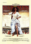 Carmen 1984 Movie poster Julia Migenes-Johnson Francesco Rosi