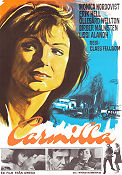 Carmilla 1968 Movie poster Monica Nordquist Claes Fellbom