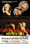 Carnal Knowledge 1971 Movie poster Ann-Margret Mike Nichols