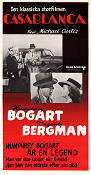 Casablanca 1942 Movie poster Humphrey Bogart Michael Curtiz