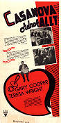 Casanova Brown 1944 Movie poster Gary Cooper