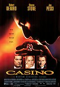 Casino 1995 Movie poster Robert De Niro Martin Scorsese
