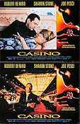 Casino 1995 lobby card set Robert De Niro Martin Scorsese