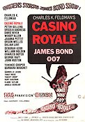 Casino Royale 1968 Movie poster Peter Sellers