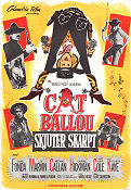 Cat Ballou 1965 Jane Fonda Lee Marvin Nat King Cole