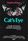 Cat's Eye 1985 Movie poster Drew Barrymore