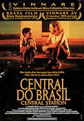 Central do Brasil 1998 Movie poster Walter Salles