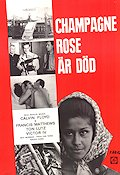Champagne Rose �r d�d 1970 Movie poster Calvin Floyd