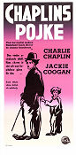 The Kid 1921 poster Jackie Coogan Charlie Chaplin