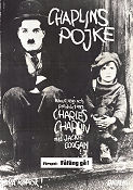 The Kid 1921 poster Charlie Chaplin