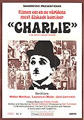 Charlie the Gentleman Tramp 1975 Movie poster Charlie Chaplin