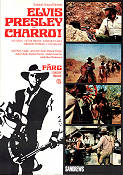 Charro 1969 Movie poster Elvis Presley Charles Marquis Warren