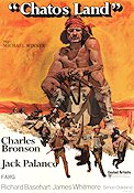Chato's Land 1972 Movie poster Charles Bronson Michael Winner
