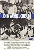 Chisum 1970 Movie poster John Wayne
