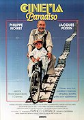 Cinema Paradiso 1988 Movie poster Philippe Noiret Giuseppe Tornatore