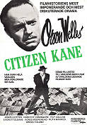 Citizen Kane 1941 Movie poster Joseph Cotten Orson Welles