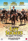 City Slickers 1991 Movie poster Billy Crystal Ron Underwood