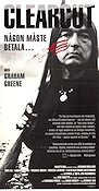 Clearcut 1991 Movie poster Graham Greene