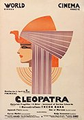Cleopatra 1917 Movie poster Theda Bara