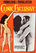 Clinic Exclusive 1975 Movie poster Georgina Ward